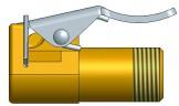 Переходник с КГШ на груз. Вентиль R-1296-1
